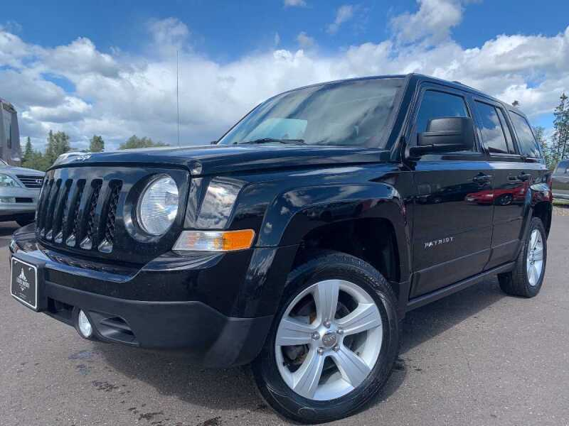 2013 Jeep Patriot for sale at LUXURY IMPORTS in Hermantown MN