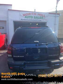 2004 Chevrolet TrailBlazer for sale at North Hill Auto Sales in Akron OH