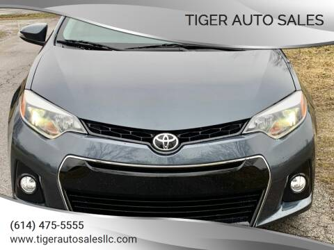 2014 Toyota Corolla for sale at Tiger Auto Sales in Columbus OH