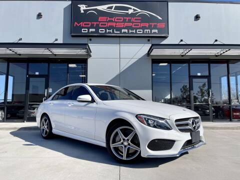 2015 Mercedes-Benz C-Class for sale at Exotic Motorsports of Oklahoma in Edmond OK