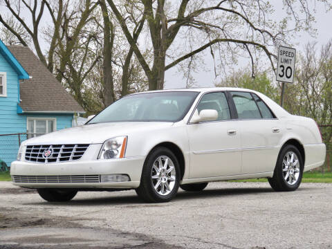 2011 Cadillac DTS for sale at Tonys Pre Owned Auto Sales in Kokomo IN
