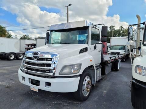 2018 Hino 258A for sale at Orange Truck Sales in Orlando FL