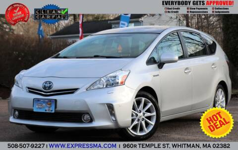 2012 Toyota Prius v for sale at Auto Sales Express in Whitman MA