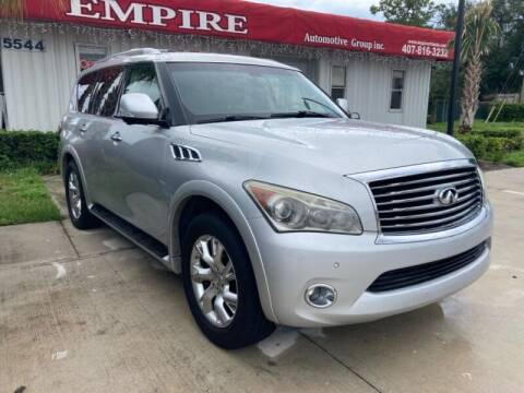 2013 Infiniti QX56 for sale at Empire Automotive Group Inc. in Orlando FL