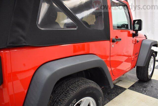 2016 Jeep Wrangler 4x4 Sport 2dr SUV - Chillicothe MO