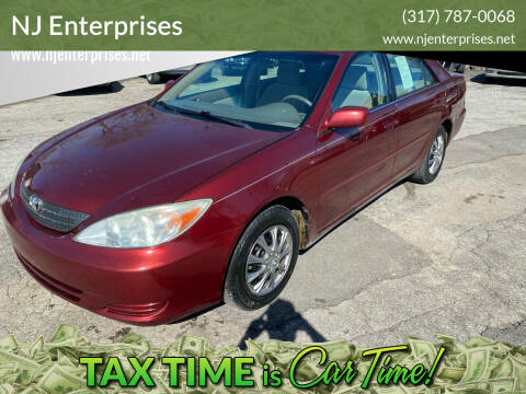2003 Toyota Camry for sale at NJ Enterprises in Indianapolis IN
