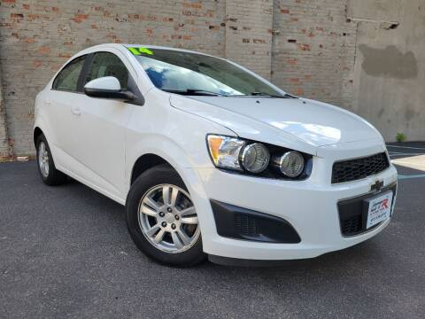 2014 Chevrolet Sonic for sale at GTR Auto Solutions in Newark NJ
