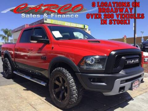 2016 RAM Ram Pickup 1500 for sale at CARCO SALES & FINANCE #3 in Chula Vista CA