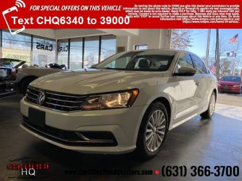 2017 Volkswagen Passat for sale at CERTIFIED HEADQUARTERS in St James NY