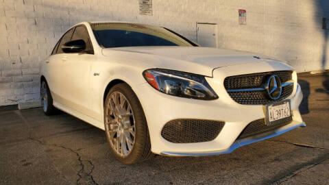2017 Mercedes-Benz C-Class for sale at ADVANTAGE AUTO SALES INC in Bell CA