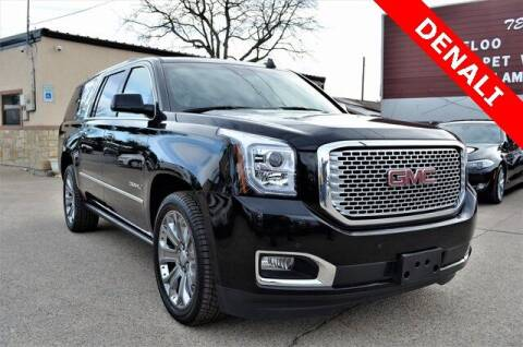 2016 GMC Yukon XL for sale at LAKESIDE MOTORS, INC. in Sachse TX