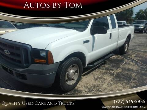 2006 Ford F-250 Super Duty for sale at Autos by Tom in Largo FL