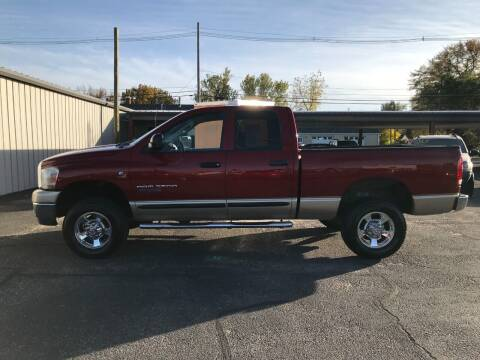 2006 Dodge Ram Pickup 2500 for sale at STEVE'S AUTO SALES INC in Scottsbluff NE