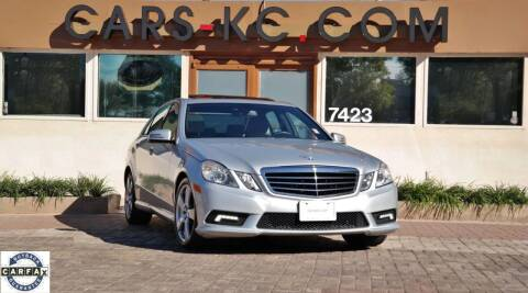 2011 Mercedes-Benz E-Class for sale at Cars-KC LLC in Overland Park KS