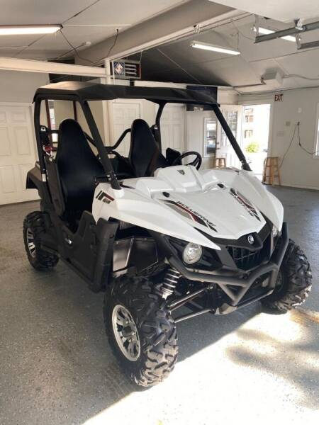 2017 Yamaha Wolverine R Spec for sale at Mass Auto Exchange in Framingham MA