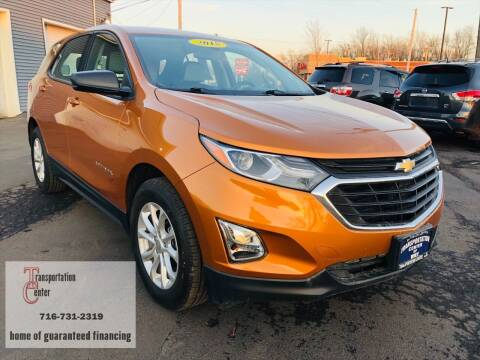 2018 Chevrolet Equinox for sale at Transportation Center Of Western New York in Niagara Falls NY