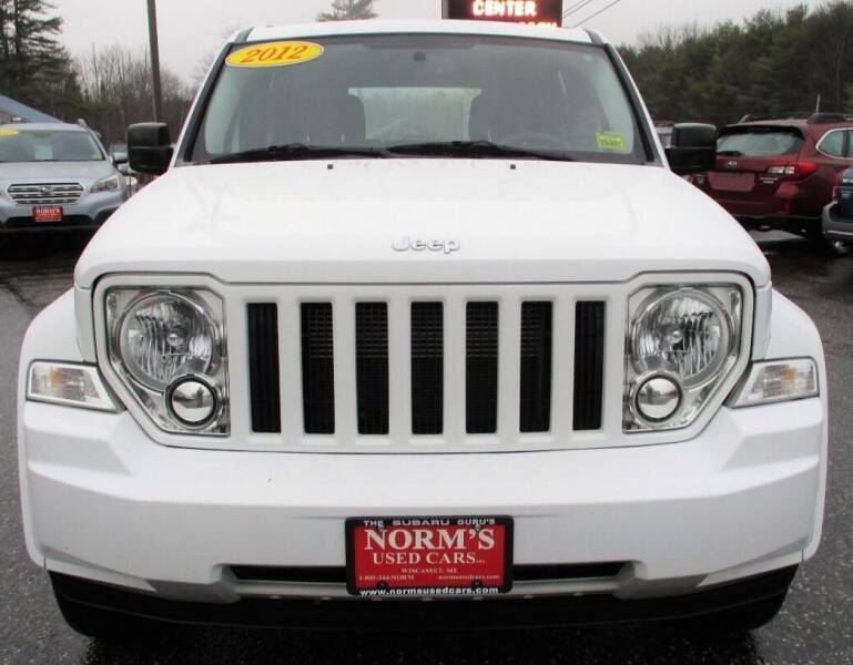 2012 Jeep Liberty for sale at NORM'S USED CARS INC - Trucks By Norm's in Wiscasset ME