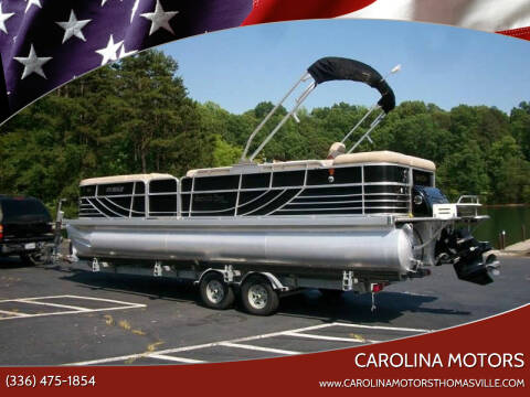 2010 South Bay Tritoon for sale at CAROLINA MOTORS - Carolina Classics & More-Thomasville in Thomasville NC