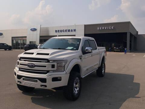 2018 Ford F-150 for sale at St. Louis Used Cars in Ellisville MO