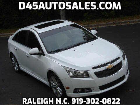 2011 Chevrolet Cruze for sale at D45 Auto Brokers in Raleigh NC