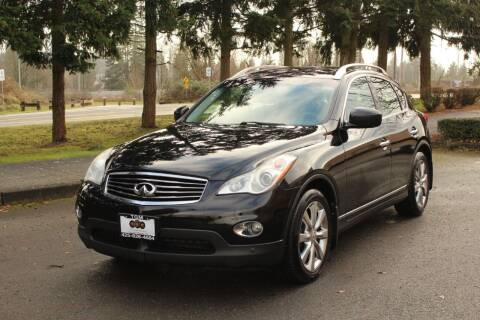 2010 Infiniti EX35 for sale at Top Gear Motors in Lynnwood WA