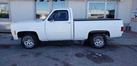1978 Chevy Scoottsdale for sale at HomeTown Motors in Gillette WY
