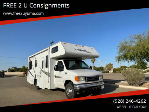 2005 Four winds Majestic for sale at FREE 2 U Consignments in Yuma AZ