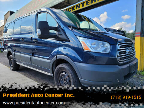2016 Ford Transit Cargo for sale at President Auto Center Inc. in Brooklyn NY