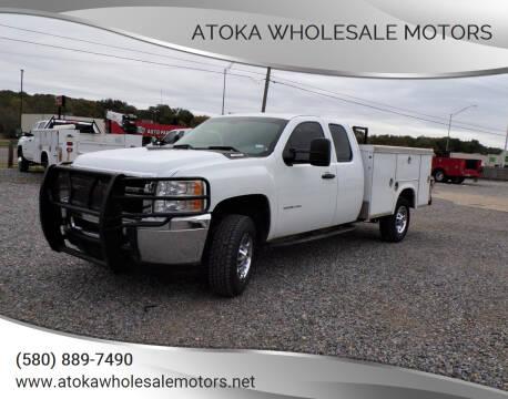 2013 Chevrolet Silverado 2500HD for sale at ATOKA WHOLESALE MOTORS in Atoka OK