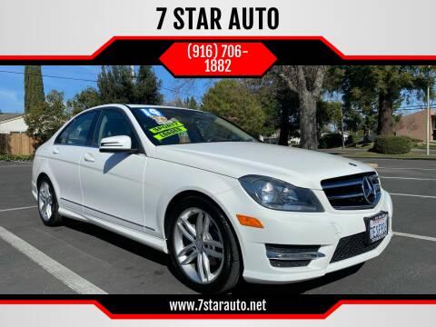 2014 Mercedes-Benz C-Class for sale at 7 STAR AUTO in Sacramento CA