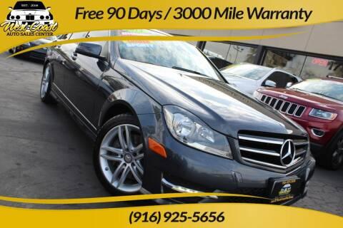 2014 Mercedes-Benz C-Class for sale at West Coast Auto Sales Center in Sacramento CA
