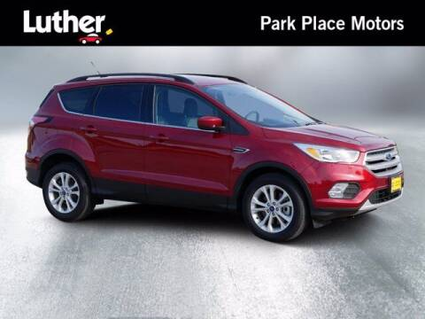 2018 Ford Escape for sale at Park Place Motor Cars in Rochester MN
