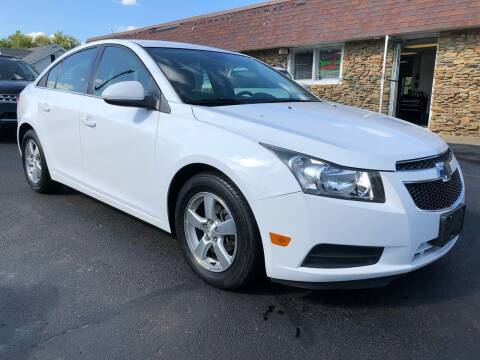 2014 Chevrolet Cruze for sale at Approved Motors in Dillonvale OH