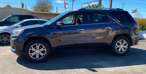 2015 GMC Acadia for sale at Bobby Lafleur Auto Sales in Lake Charles LA