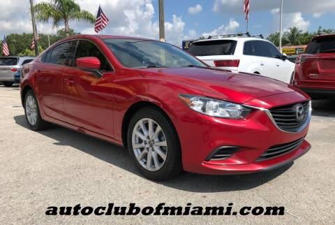 2017 Mazda MAZDA6 for sale at AUTO CLUB OF MIAMI, INC in Miami FL