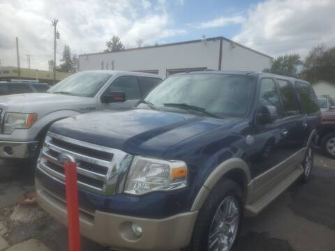 2009 Ford Expedition EL for sale at J & J Used Cars inc in Wayne MI