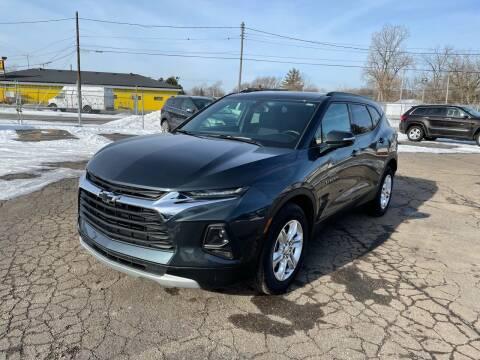 2019 Chevrolet Blazer for sale at Dean's Auto Sales in Flint MI