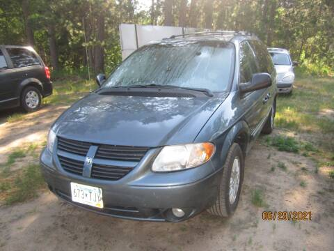2005 Chrysler Town and Country for sale at SUNNYBROOK USED CARS in Menahga MN