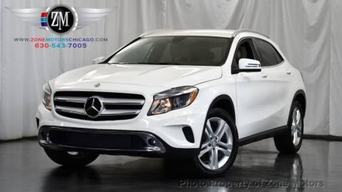2015 Mercedes-Benz GLA for sale at ZONE MOTORS in Addison IL