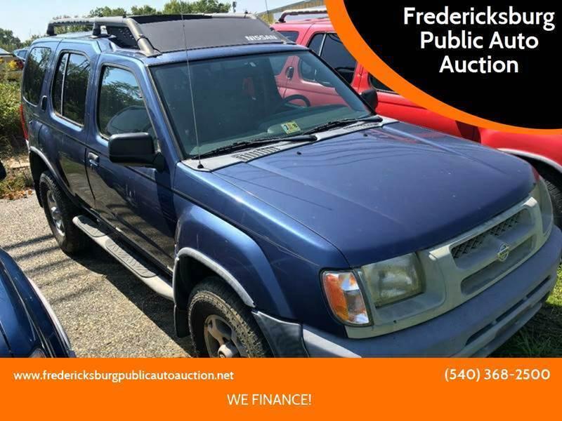 2000 Nissan Xterra for sale at FPAA in Fredericksburg VA