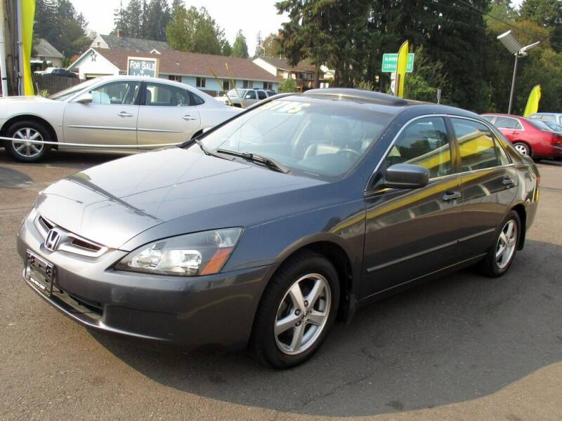 2004 Honda Accord for sale at Yellow Line Motors in Lafayette OR
