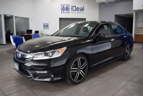 2016 Honda Accord for sale at iDeal Auto Imports in Eden Prairie MN