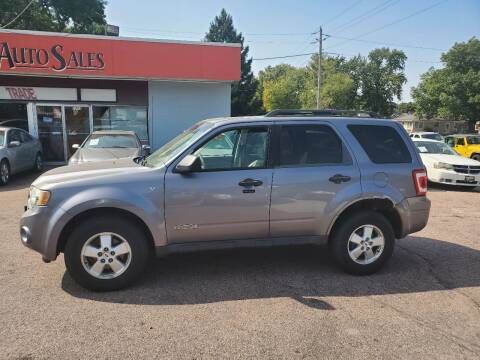 2008 Ford Escape for sale at RIVERSIDE AUTO SALES in Sioux City IA