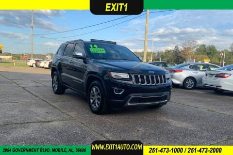 2014 Jeep Grand Cherokee for sale at Exit 1 Auto in Mobile AL