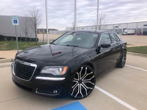 2013 Chrysler 300 for sale at TWIN CITY MOTORS in Houston TX