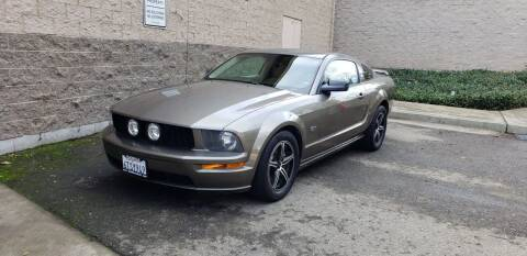 2005 Ford Mustang for sale at SafeMaxx Auto Sales in Placerville CA