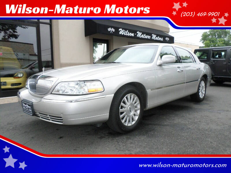 2003 Lincoln Town Car for sale at Wilson-Maturo Motors in New Haven CT