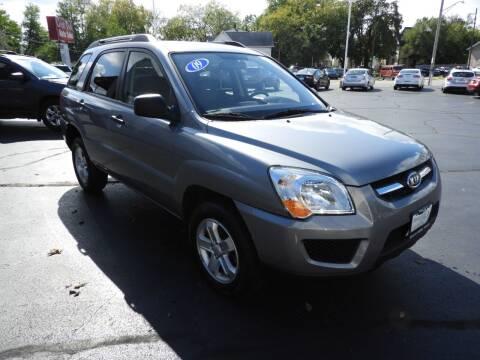 2009 Kia Sportage for sale at Grant Park Auto Sales in Rockford IL