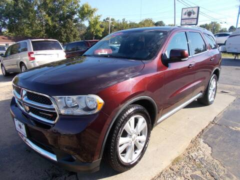 2012 Dodge Durango for sale at High Country Motors in Mountain Home AR