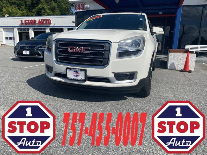 2014 GMC Acadia for sale at 1 Stop Auto in Norfolk VA